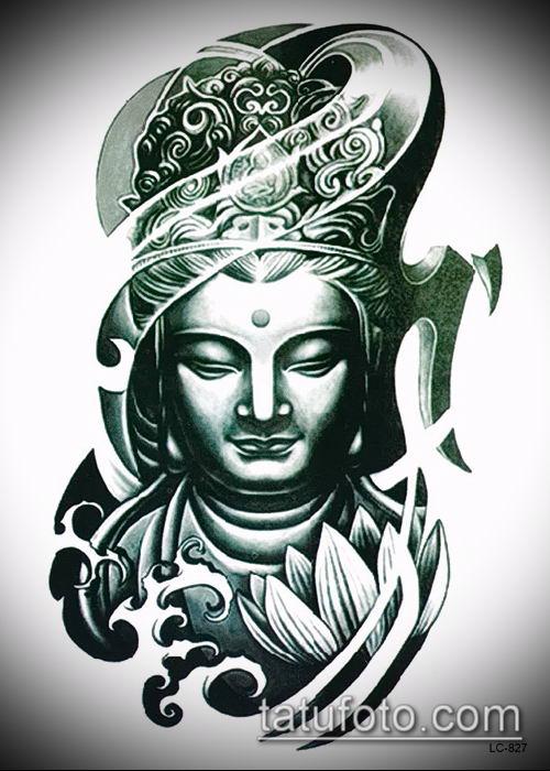 фото тату Будда (Buddha tattoo) (значение) - пример рисунка - 027 tatufoto.com