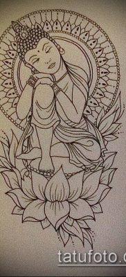 фото тату Будда (Buddha tattoo) (значение) – пример рисунка – 030 tatufoto.com