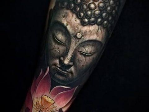 фото тату Будда (Buddha tattoo) (значение) - пример рисунка - 032 tatufoto.com
