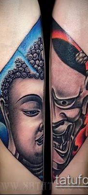 фото тату Будда (Buddha tattoo) (значение) – пример рисунка – 033 tatufoto.com