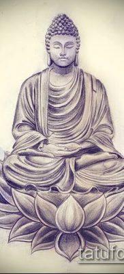фото тату Будда (Buddha tattoo) (значение) – пример рисунка – 035 tatufoto.com