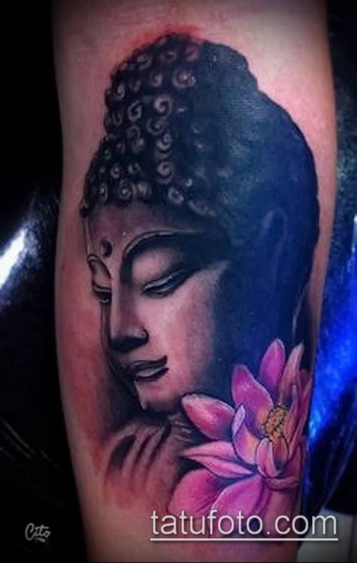 фото тату Будда (Buddha tattoo) (значение) - пример рисунка - 036 tatufoto.com