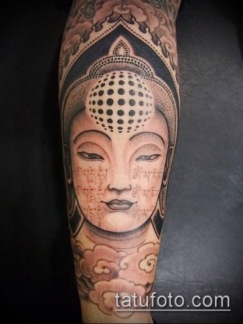 фото тату Будда (Buddha tattoo) (значение) - пример рисунка - 037 tatufoto.com