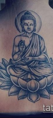 фото тату Будда (Buddha tattoo) (значение) – пример рисунка – 038 tatufoto.com