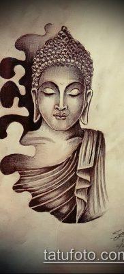 фото тату Будда (Buddha tattoo) (значение) – пример рисунка – 039 tatufoto.com