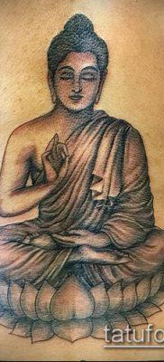 фото тату Будда (Buddha tattoo) (значение) – пример рисунка – 044 tatufoto.com