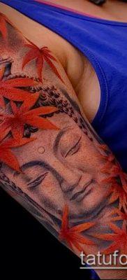 фото тату Будда (Buddha tattoo) (значение) – пример рисунка – 045 tatufoto.com