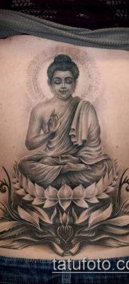 фото тату Будда (Buddha tattoo) (значение) – пример рисунка – 046 tatufoto.com