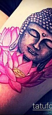 фото тату Будда (Buddha tattoo) (значение) – пример рисунка – 052 tatufoto.com