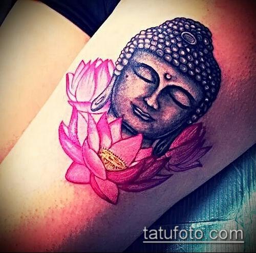 фото тату Будда (Buddha tattoo) (значение) - пример рисунка - 052 tatufoto.com