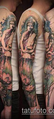 фото тату Будда (Buddha tattoo) (значение) – пример рисунка – 054 tatufoto.com