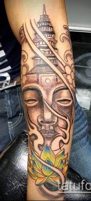 фото тату Будда (Buddha tattoo) (значение) – пример рисунка – 057 tatufoto.com