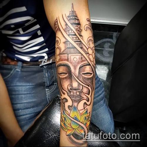 фото тату Будда (Buddha tattoo) (значение) - пример рисунка - 057 tatufoto.com
