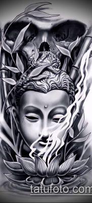 фото тату Будда (Buddha tattoo) (значение) – пример рисунка – 058 tatufoto.com
