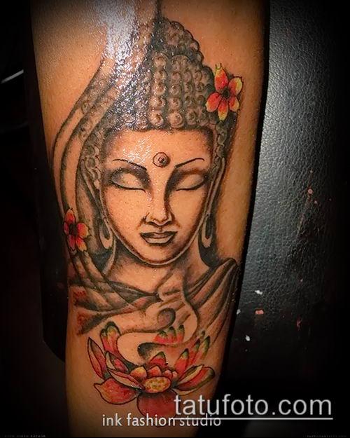 фото тату Будда (Buddha tattoo) (значение) - пример рисунка - 061 tatufoto.com