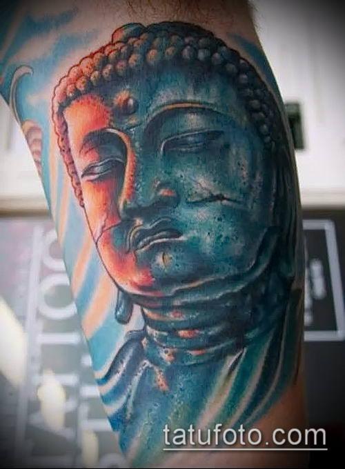 фото тату Будда (Buddha tattoo) (значение) - пример рисунка - 062 tatufoto.com