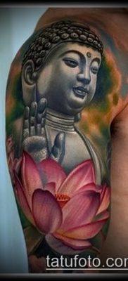 фото тату Будда (Buddha tattoo) (значение) – пример рисунка – 063 tatufoto.com