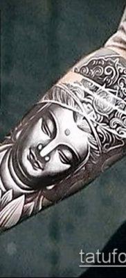 фото тату Будда (Buddha tattoo) (значение) – пример рисунка – 068 tatufoto.com