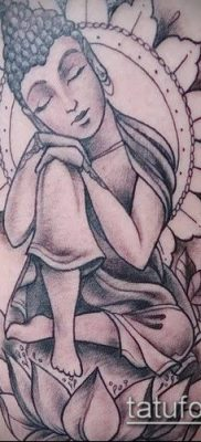 фото тату Будда (Buddha tattoo) (значение) – пример рисунка – 070 tatufoto.com