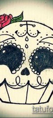 фото тату ПИРОЖНОЕ (Body tattoo cake) (значение) – пример рисунка – 003 tatufoto.com