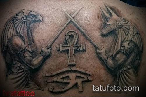 фото тату РА (Tattoo Ra) (значение) - пример рисунка - 005 tatufoto.com