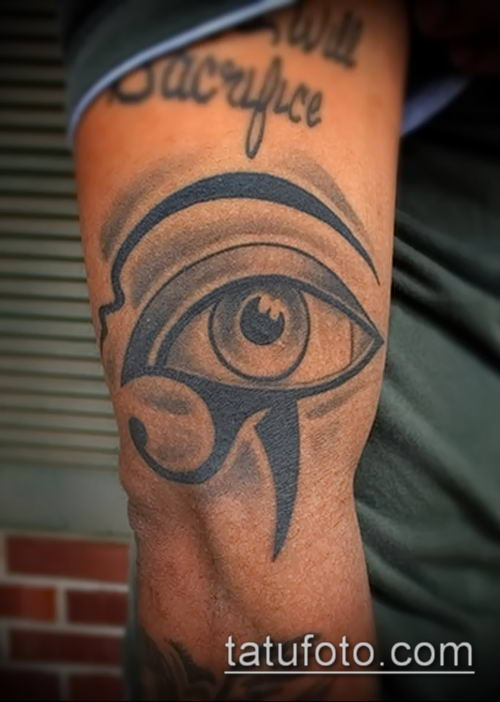фото тату РА (Tattoo Ra) (значение) - пример рисунка - 016 tatufoto.com