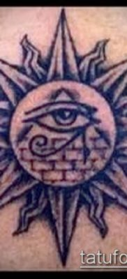 фото тату РА (Tattoo Ra) (значение) – пример рисунка – 017 tatufoto.com