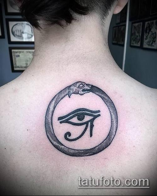 фото тату РА (Tattoo Ra) (значение) - пример рисунка - 020 tatufoto.com