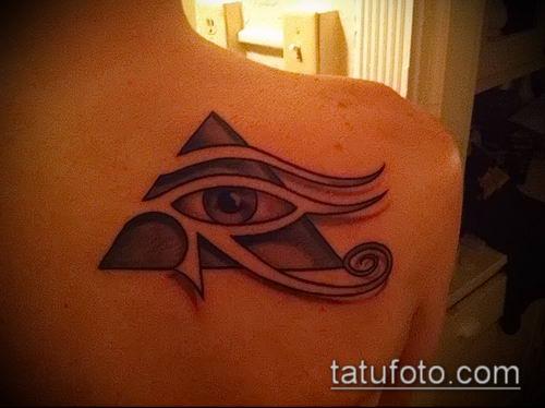 фото тату РА (Tattoo Ra) (значение) - пример рисунка - 027 tatufoto.com