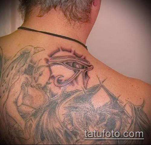 фото тату РА (Tattoo Ra) (значение) - пример рисунка - 028 tatufoto.com
