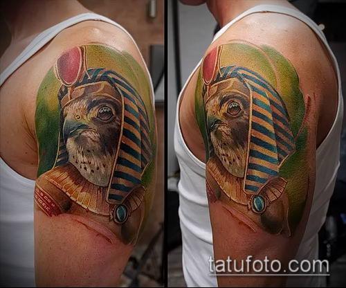 фото тату РА (Tattoo Ra) (значение) - пример рисунка - 029 tatufoto.com