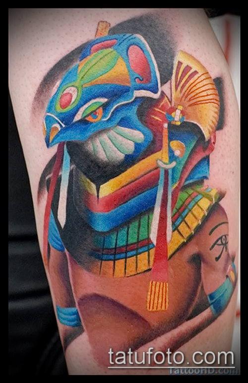 фото тату РА (Tattoo Ra) (значение) - пример рисунка - 031 tatufoto.com