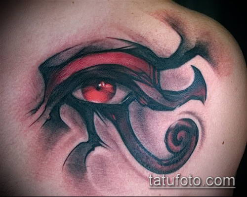 фото тату РА (Tattoo Ra) (значение) - пример рисунка - 033337 tatufoto.com