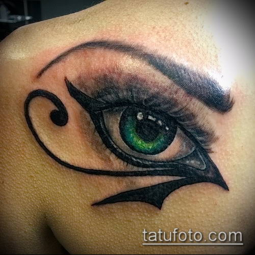 фото тату РА (Tattoo Ra) (значение) - пример рисунка - 041 tatufoto.com