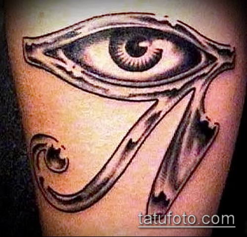 фото тату РА (Tattoo Ra) (значение) - пример рисунка - 042 tatufoto.com