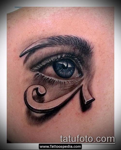 фото тату РА (Tattoo Ra) (значение) - пример рисунка - 046 tatufoto.com