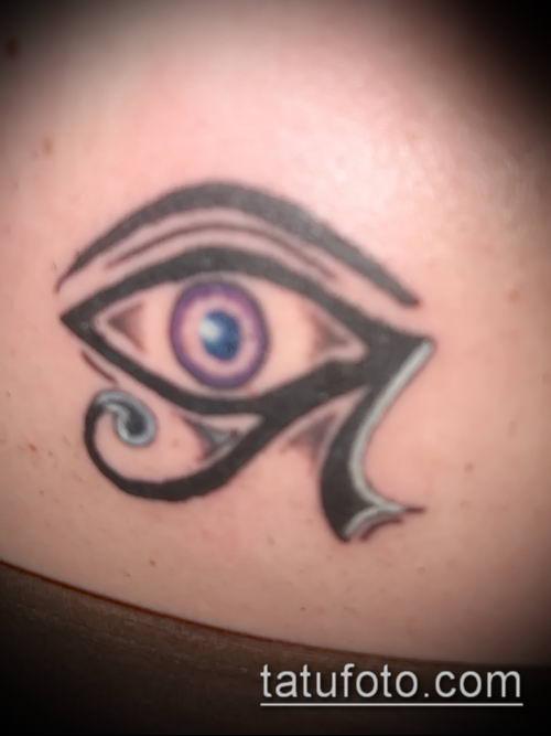 фото тату РА (Tattoo Ra) (значение) - пример рисунка - 048 tatufoto.com