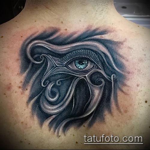 фото тату РА (Tattoo Ra) (значение) - пример рисунка - 053 tatufoto.com