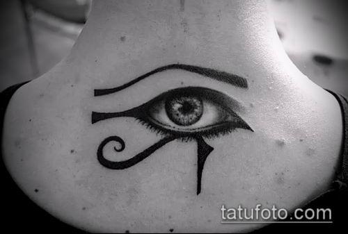 фото тату РА (Tattoo Ra) (значение) - пример рисунка - 054 tatufoto.com