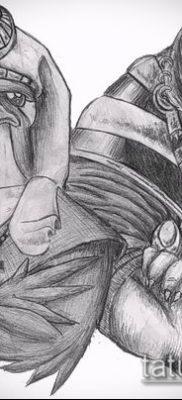 фото тату РА (Tattoo Ra) (значение) – пример рисунка – 073 tatufoto.com
