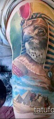 фото тату РА (Tattoo Ra) (значение) – пример рисунка – 081 tatufoto.com