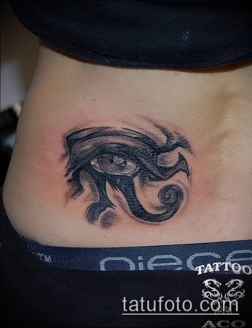 фото тату РА (Tattoo Ra) (значение) - пример рисунка - 087 tatufoto.com