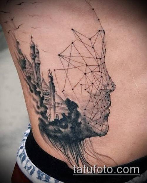 фото тату абстракция (tattoo abstraction) (значение) - пример рисунка - 001 tatufoto.com