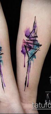 фото тату абстракция (tattoo abstraction) (значение) – пример рисунка – 007 tatufoto.com