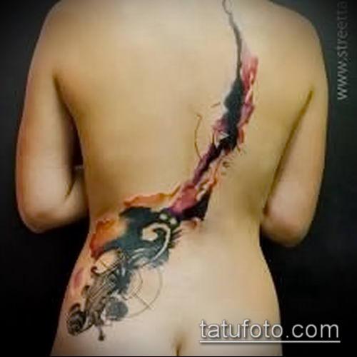 фото тату абстракция (tattoo abstraction) (значение) - пример рисунка - 012 tatufoto.com
