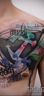 фото тату абстракция (tattoo abstraction) (значение) – пример рисунка – 016 tatufoto.com