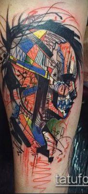фото тату абстракция (tattoo abstraction) (значение) – пример рисунка – 017 tatufoto.com