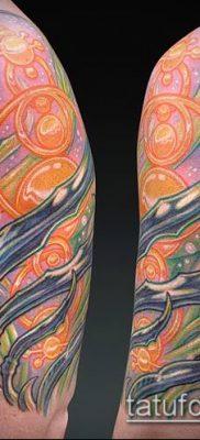 фото тату абстракция (tattoo abstraction) (значение) – пример рисунка – 019 tatufoto.com