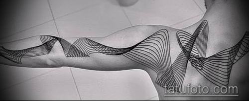 фото тату абстракция (tattoo abstraction) (значение) - пример рисунка - 027 tatufoto.com