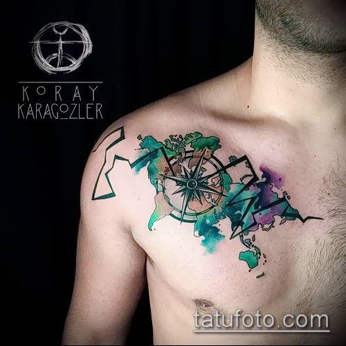 фото тату абстракция (tattoo abstraction) (значение) - пример рисунка - 030 tatufoto.com